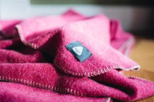Decke aus Merinowolle